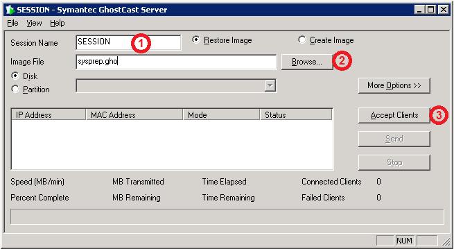 ghostcast server linux